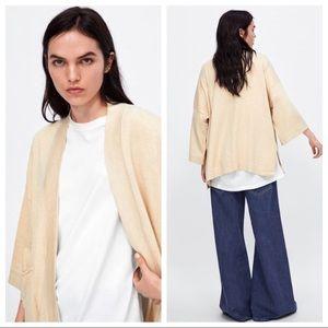 Zara Med. Oversized Kimono style sweater
